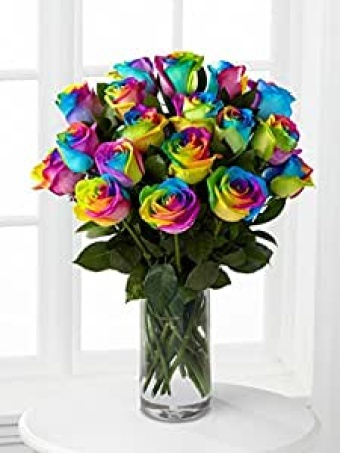Magical Unicorn Rainbow Roses